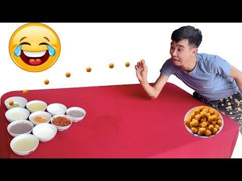 PHD | Chấm Tất Cả Mọi Thứ Phiên Bản Mới | Eating Challenge
