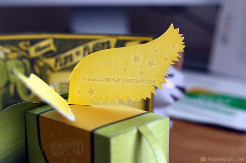 Winged Elephant Papercraft 07