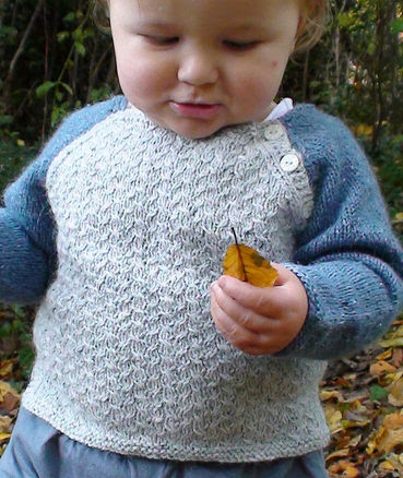 Free Knitting Pattern for Cirrus Baby Sweater
