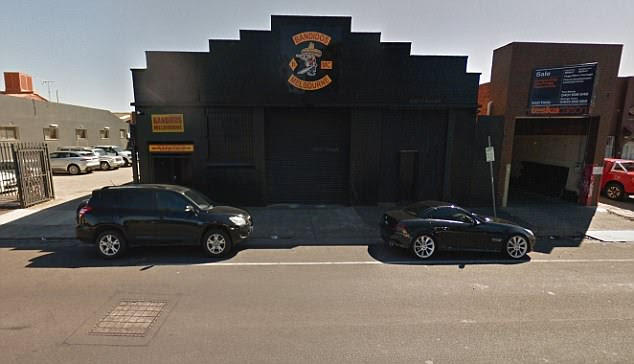 The Bandidos MC clubhouse has CCTV cameras and iron gates - and now there are claims a body was found inside this morning