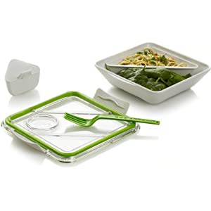 Box Appetit - White/Lime