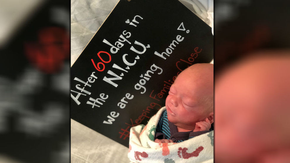 Family Celebrates Sons Release From Nicu By Saying Goodnight To