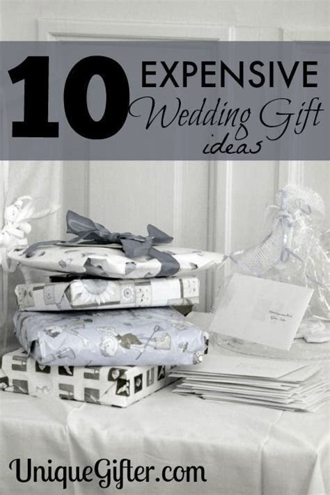 10 MORE Expensive Wedding Gift Ideas   The Wedding of My