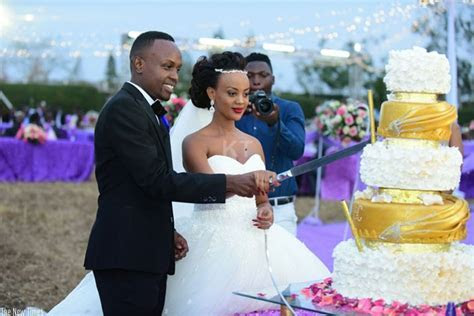 [PHOTOS] Glamour as Knowless and Clement tie the knot