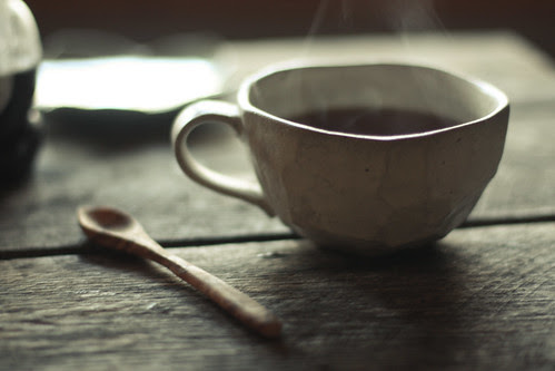 black tea & huckleberry honey