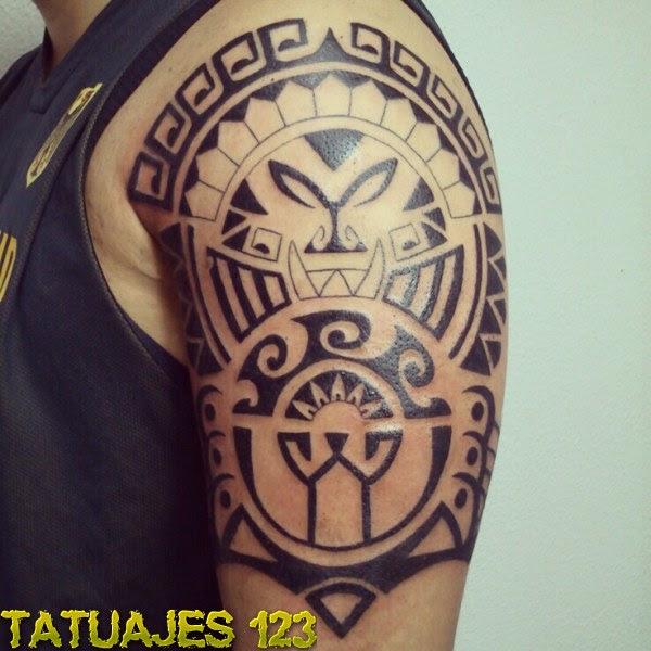Diseño Maori Tatuajes 123