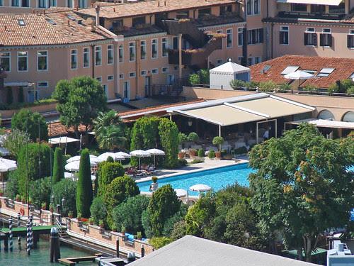 L'hôtel Cipriani sur l'île de la Giudecca (Venise)