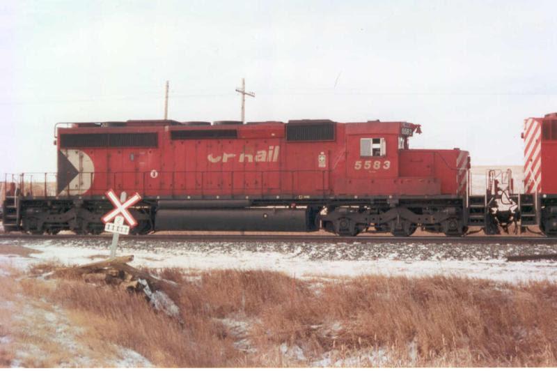 CP 5583 in Caron SK