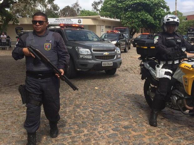 Polícia Civil fará transferência de presos em Alcaçuz (Foto: Andréa Tavares)