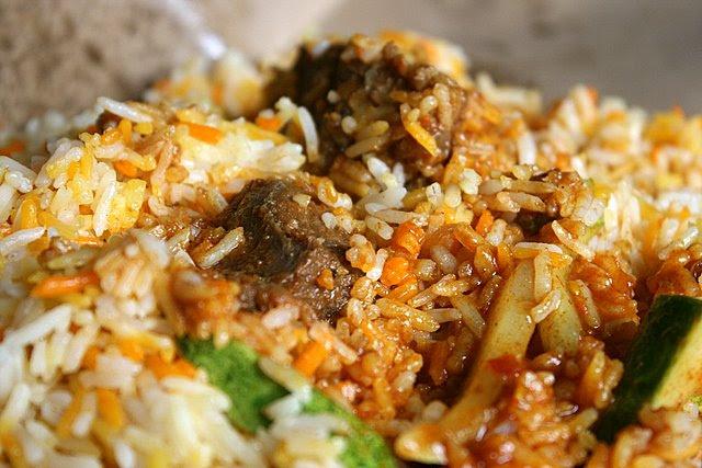 Mutton baryani or briyani
