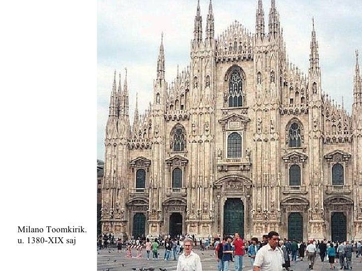 Milano Toomkirik.  u. 1380-XIX saj
