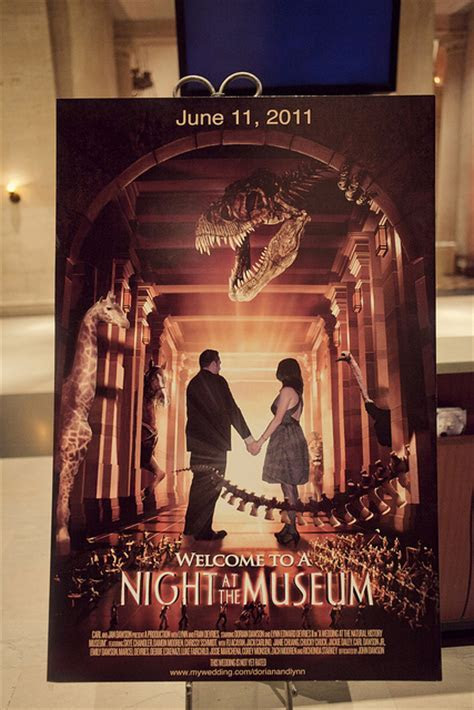 Jurassic Park/Star Wars/Night At The Museum Geek Wedding