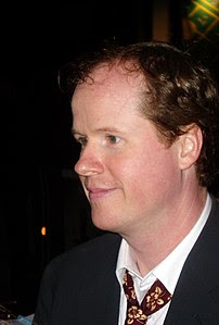 w:Joss Whedon at the premiere of Serenity