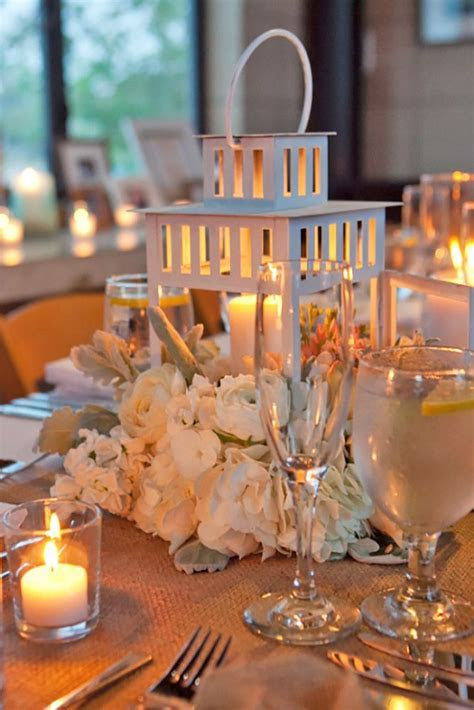 25  best ideas about Lantern Wedding Centerpieces on