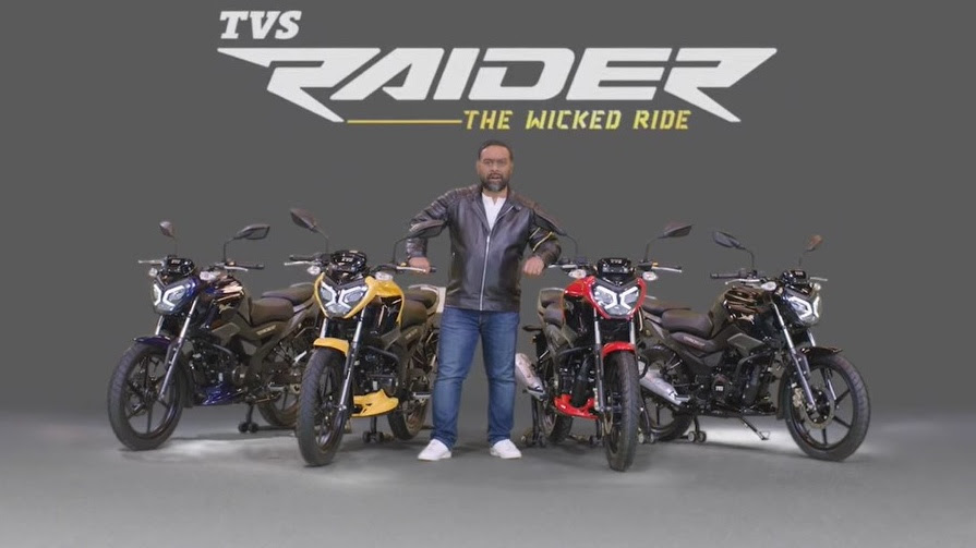 The TVS Raider features two ride modes - Eco and Power. Image: TVS