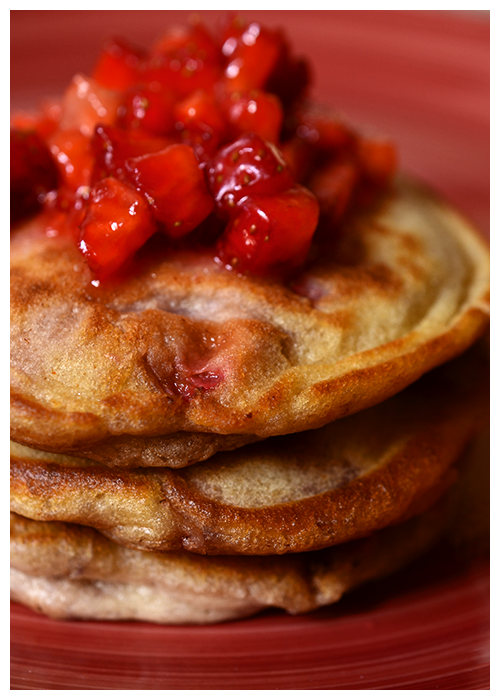 strawberry pancakes© by Haalo