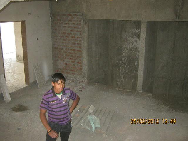 Our dark floor lobby - Visit Gobind Shree Ganesh Graceland & Mantri Mystica, near Hotel Shivar Garden, Rahatani, Aundh Annex,  Pune 411017