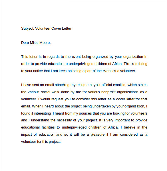 10 Email Cover Letter Examples To Download Sample Templates