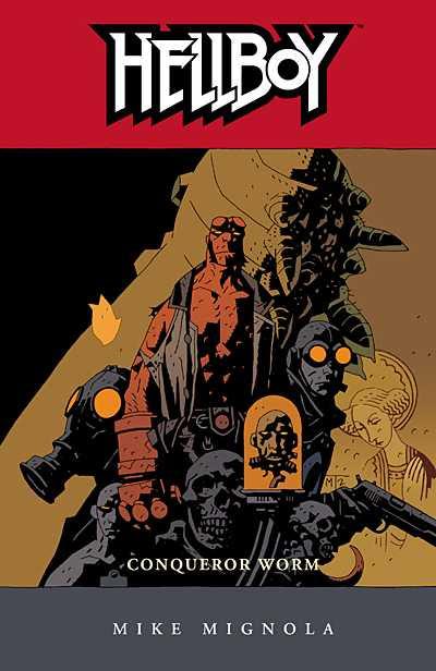 Hellboy, v. 5: Conqueror Worm cover