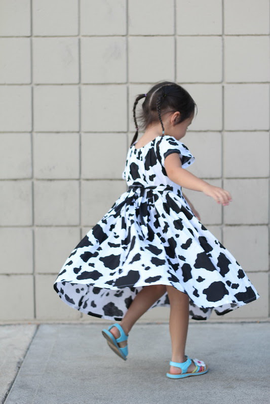 cow dress by replicate then deviate