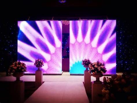 Aluminum Stage Platform LED Screen Opening Closing 2m/min