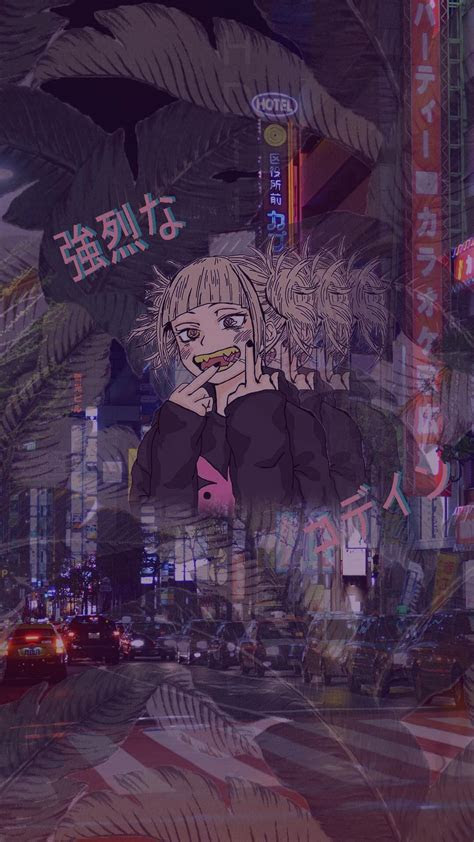 vaperwave edit toga himiko