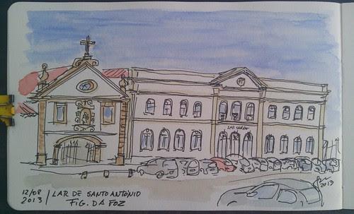 Igreja e Lar de Santo António - Fig. da Foz by JMADesigner