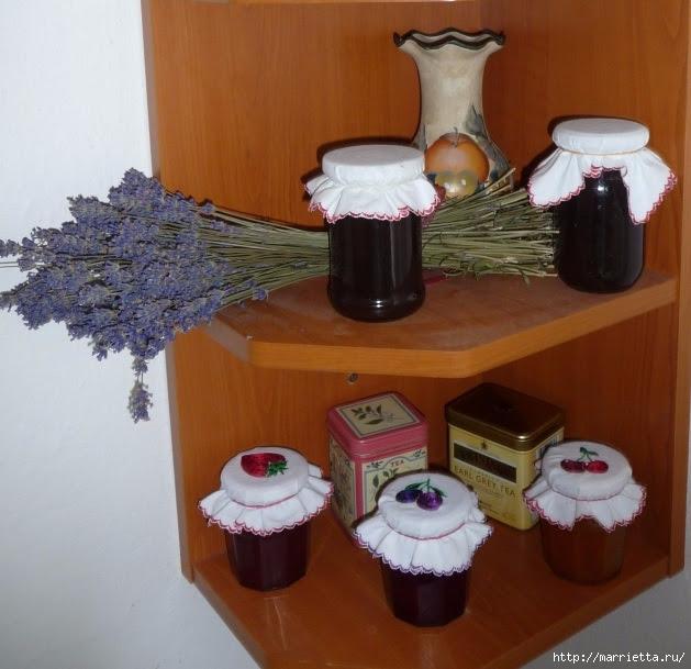 Decor embroidery jars of jam (35) (629x609, 208Kb)