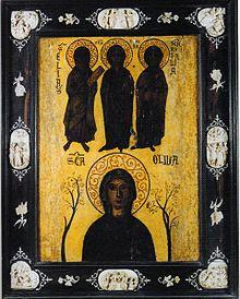 Sainte Olive de Palerme  (vers 448 à Palerme - 10 juin 463 à Tunis)