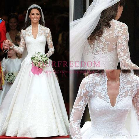 Discount Princess William And Kate Wedding Dresses 2018