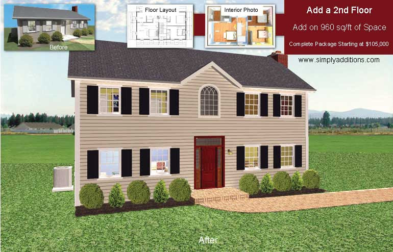second story addition plans