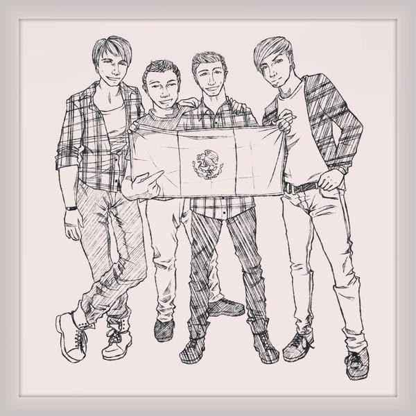 Btr Coloring Pages Big Time Rush Grig3 Org Coloring Pages