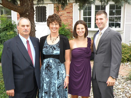 Family at Kenny and Nikki's wedding