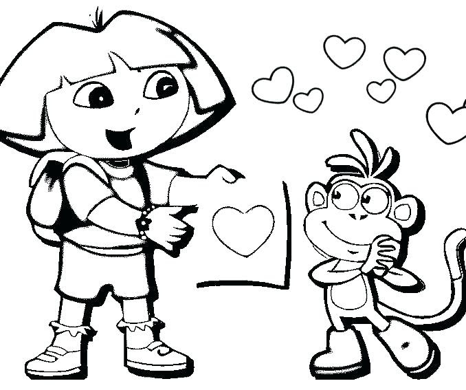 Free Easy Coloring Pages For Kids at GetDrawings | Free ...