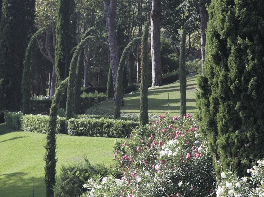 Resultado de imagen de jardines de santa clotilde