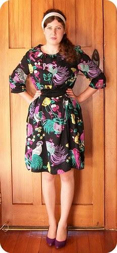 Butterick 8459 dress 2
