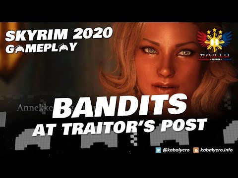 SKYRIM 2020 Gameplay (Modded)! KILL the Leader of TRAITOR'S POST!