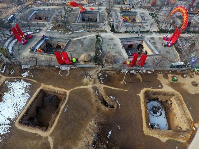 Как китайцы живут под землёй