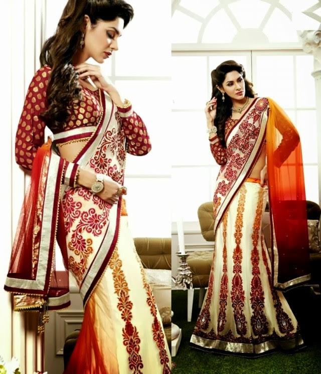 Bridal-Wedding-Rich-Heavy-Embroidered-Sarees-Designs-Lehanga-Style-Fancy-Sari-New-Fashion-5