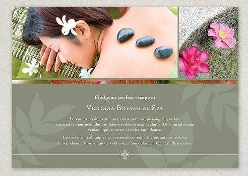 Design Brochure Template, Postcard design template