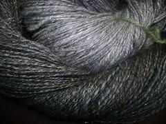 evenstar shawl spinning