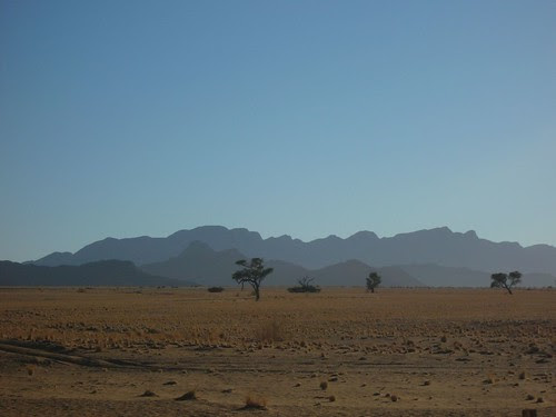 Mountains, trees, plains
