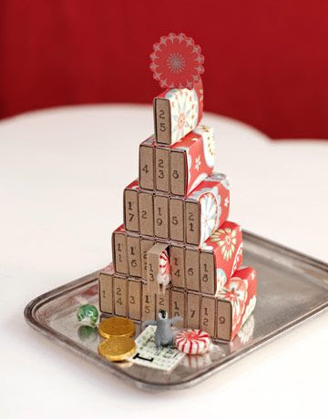 50 Cool DIY Advent Calendars | Shelterness