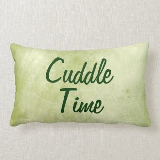 Cuddle Quote Throw Pillow