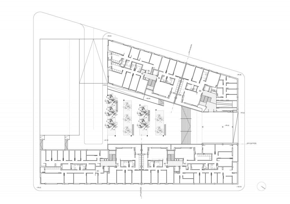 Edificio de 44 Viviendas VPA - Magén Arquitectos, Arquitectura, diseño, casas