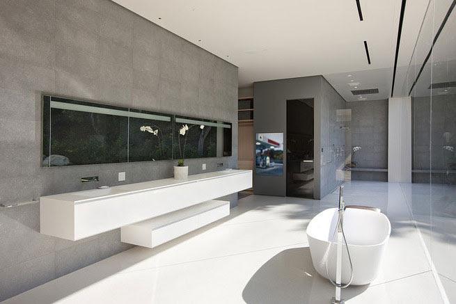 Luxury Master Bathroom Glass Pavilion - Interior Design Ideas