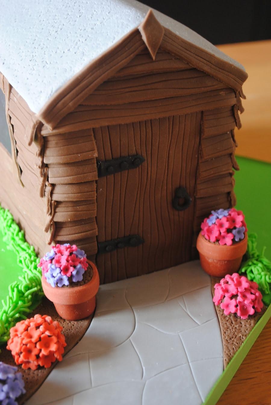 Garden Shed Cake - CakeCentral.com