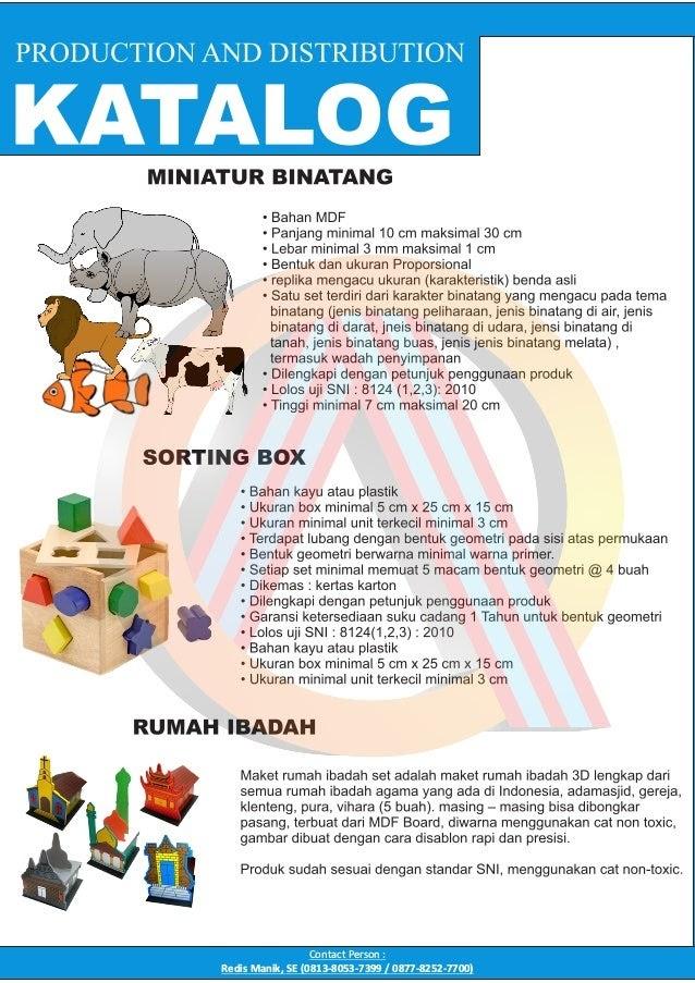 Toko Mainan Edukatif PAUD TK - Brosur Alat Permainan Edukatif (APE) PAUD TK Terbaru 2021