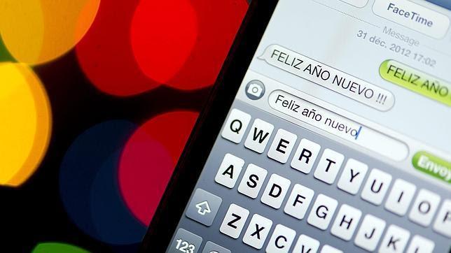 Las redes sociales y el WhatsApp desbancan a los SMS en Nochevieja