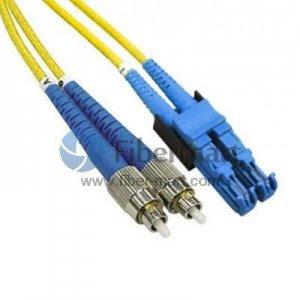 FC-E2000 Duplex 9/125 Single-mode Fiber Patch Cable